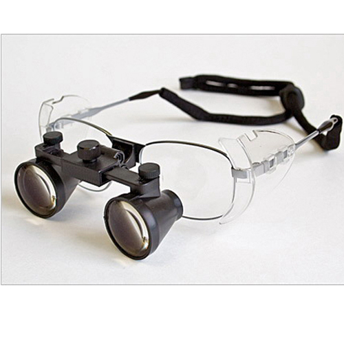 Flip Up 3.0X dental loupes surgical loupes Titanium frames
