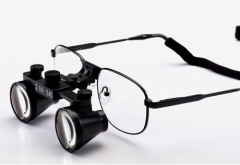 Flip Up 3.5X dental loupes surgical loupes Titanium frames