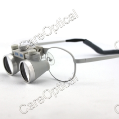 Flip up waterproof galilean loupes 3.5...