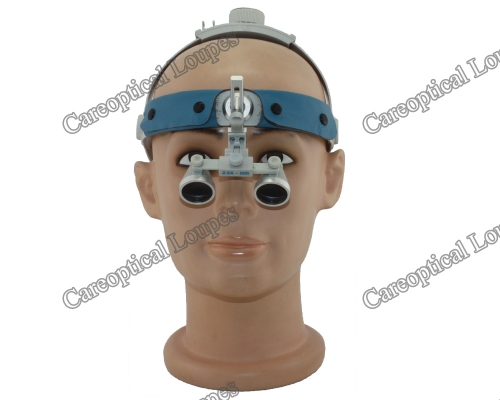 headband 3.5X waterproof dental loupes surgical loupes
