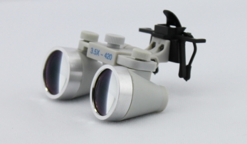 3.5X Clip On dental loupes surgical loupes Waterproof desiging
