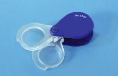 Double lens pocket magnifier (Rotary loupes) C-6503