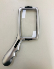 hand handle magnifier C-1703 with LED
