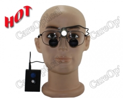 2.5X TTL dental surgical loupes titani...