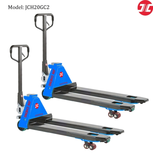 JCH20GC2 Hydraulic Scale Pallet Truck 2000kg Scale Pallet Jack with Printer