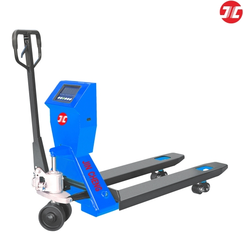 JCH20GC1 Manual Scale Pallet Truck with Imported Scale In Rechargeable Battery Hydraulic Pallet Truck Lift Capacity of 2000kg reliable quality