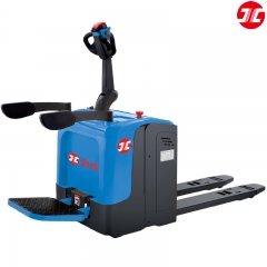 JCE20TZ1 Electric Rider Pallet Truck Lithium Batte...