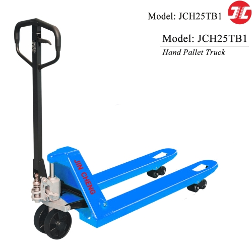 JCH25TB1 Manual Hand Pallet Truck with Capacity of 2500kg Reliable Quality Hydraulic Pallet Truck Lift