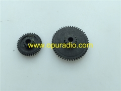 Gear one pair for Panasonic 6 CD/DVD changer mechanism E9823 E9482 E9060 E9058 E9308 E9291 E9058 E9059 E9265 Matsushita 3th Generation mech a lots of
