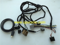 Wiring Harness for Cadillac CUE Touch radio SRX CTS ATS XTS Chevrolet GMC Buick GM car radio power on bench