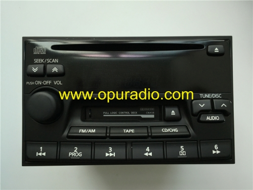 NISSAN PN-2273N Clarion single CD player for Maxima Pathfinder 1998-2001 Altima PN-2261 Receiver Audio 2000-2002 Infiniti G20 QX4 Stereo Radio AM FM C