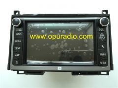 FUJITSU TEN 86107-0T040 DVD Navigation 138000-1890C101 for 2012-2015 Toyota VENZA E8054 JBL Sounds Systems HDD GPS car Radio Media MAP Phone Camera So