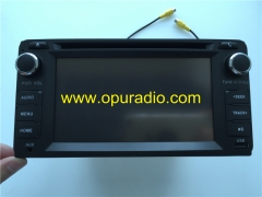 Toyota 86140-0E150 face10.2CM*20.3CM Fujitsu Ten CD Radio Bluetooth Phone USB AUX Camera AM FM for 2009-2013 Corolla CD player a lots of Toyota includ