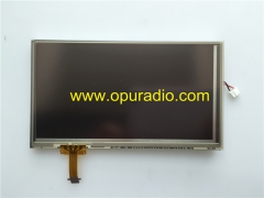 AUO Display C061VTN01 V0 LCD Monitor with touch screen for Toyota Prado RAV4 car radio Fujitsu Ten CD player Phone Audio OEM Factory