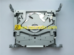 SANYO Automedia Single CD Drive Loader deck mechanism PCB 1ED4B9A07401 for 2009 Mazda 3 Car Radio AM FM CD player Audio Media MP3 14799966 Part BDA7 6