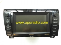 TOYOTA 86120-0C330 DW468100-1180 for Sequoia SR5 Limited Platinum2010-2015 Tundra 2010-2013 JBL RADIO RECEIVER DENSO Navigation WMA MP3 GPS 4CD change