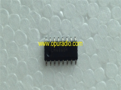 LM4860M integrated circuit IC Chips for car radio repair 5PCS a lot