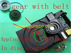 one set Gear for VAM1201 VAM1202 Loader CDM12.1 CDM12.2 Load Eject disc problem for Philips CD player