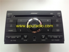 BOSE CD 6 Changer MP3 AUX OEM Factory stereo Radio for NISSAN 28185 ZE50B Maxima 2007 2008 car Audio Clarion PN-2837D USA CANADA VERSION