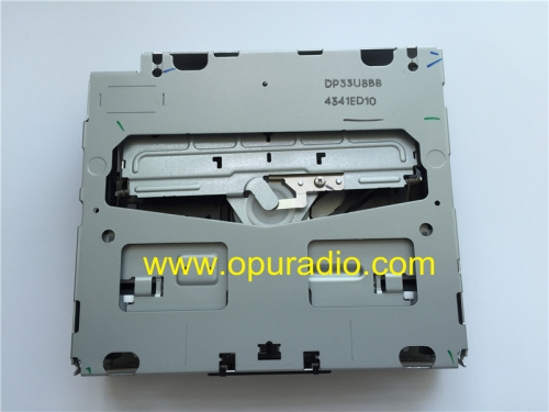 Alpine DP33U single CD drive loader deck mechanism without PCB 11 Pins connector for Mercdes A B C CLASS VIANO VITO SPRINTER MN2830 MN2840 MN2850 MN28