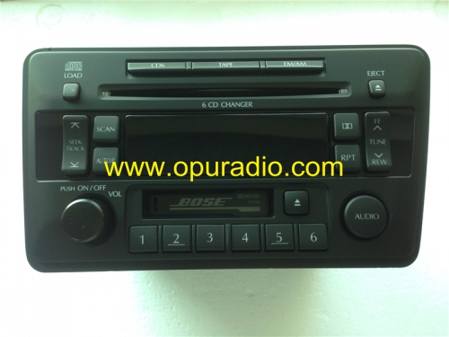 Nissan 28188 5W700 5W800 6 CD Changer Clarion PN-2457N 286-9289-12 CR060 CR110 for NISSAN BOSE car radio sounds systems