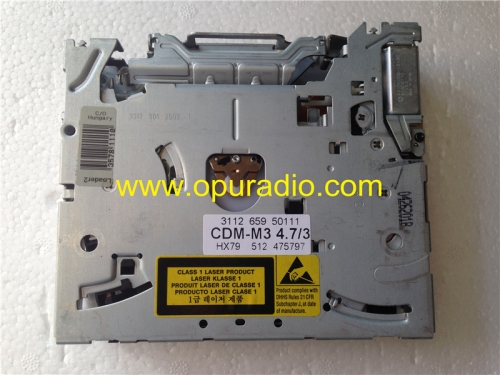 CDM-M3 4.7/3 Philips single CD drive loader mechanism deck for Alfa Romeo Peugeot 407 RT3 CD Navigation Lancia Fiat car radio audio GPS AM FM