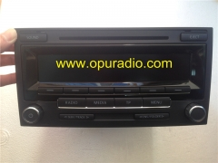 VW radio LOW DAB MP3 for T5 Multivan Touareg 7H0 035 186D 3 connectors BOSCH car radio MP3 head unit with Decode Unlock Made in Portugal