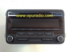 Bosch single CD MP3 head unit RCD310 1K0 035 186 AN Made in Portugal for VW Radio LOW EU UP2 with decode unlock Golf Jetta Passat Beatles