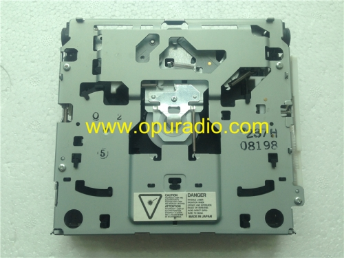 Mitsubishi single CD drive loader deck mechanism KSS-540A laser for Volvo Chrysler car radio old style