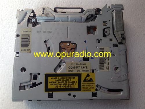 Philips single CD loader drive mechanism CDM-M7 4.6/3 laufwerk for Audi concert A3 VW RCD300 car radio