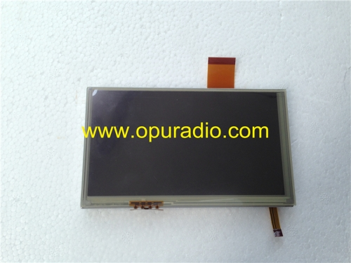 Sharp LQ058T5DR03X LCD display with touch screen monitor for Mercedes car audio radio navigation Opel