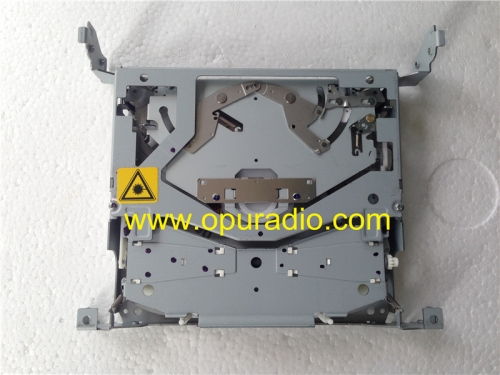 SANYO Automedia single CD drive loader deck mechanism PCB 14P with 4 mountings supports for Mazda 3 BBM566AR0 14792746 AUX MP3 WMA car radio 2010-2012