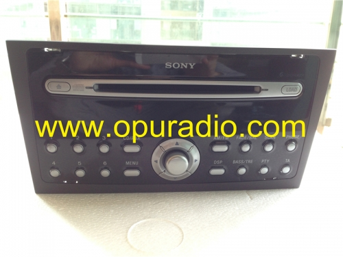 SONY 6 CD changer radio head unit old style MP3 FoMoCo for Ford Focus Mondeo car radio AUDIO SYSTEMS
