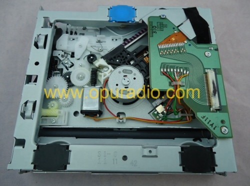 Fujitsu ten single CD loader drive deck mechanism OPTIMA-726 laser with 3 supports for Fujitsu Ten car radio Toyota Panasonic CD player MP3 AUX USB