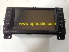 P05091332AC Chrysler Dodge Jeep single DVD audio head unit with decode HDD Hard Disc Drive MP3 AUX Media car radio