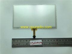 Toyota Corolla Camry RAV4 Fujitsu 6.1inch touch screen digitizer replacement LA061WQ1 TD04 C061VTN01.0