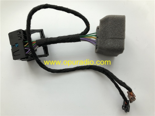 Extend cable with sockets to power on bench Citroen C4 Cactus C3 Diesel SMEG Peugeot car navigation systems old sytle