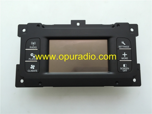 05064976AH DISPLAY unit touch screen for 2013-2016 Chrysler Dodge Journey REB 4.3 Uconnect Fiat Freemont car audio Media CD player