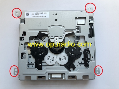 Single CD drive Loader deck without PC board for Bosch Blanpunkt car radio VW RCD310 RNS310 Audi Mercedes Renault CD player Phone BOSH
