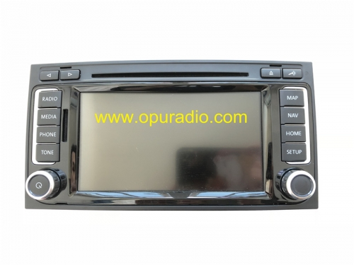 CONTINENTAL RNS510 SSD LED Car radio Navigation Phone Bluetooth MAP for VW T5 Multivan Caravelle Touareg Media Decode