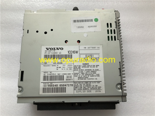 1CD16W ECU ASSY 30732668 Mitsubishi CD Player for 2004-2007 Volvo V50 car radio