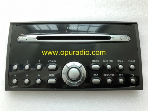 faceplate panel for SONY 6 CD radio FoMoCo Ford Focus Mondeo C-MAX MK3 car audio