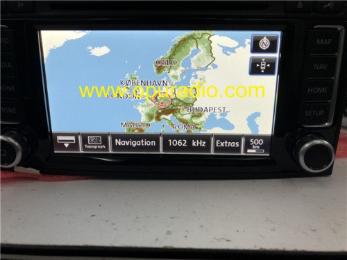 CONTINENTAL RNS510 SSD Car radio Navigation for VW T5 Multivan Caravelle Touareg Europe 2014 UP