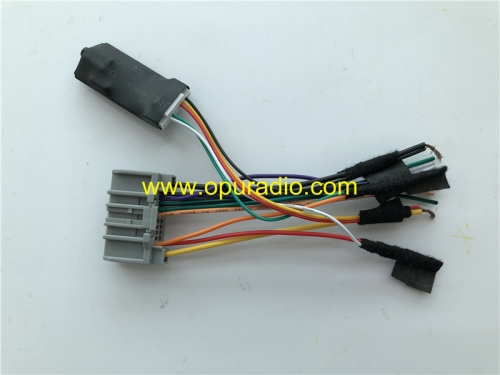 Emulator with wirings Tester for Chrysler 200 Dodge MYGIG 430 Uconnect 6.5 430 RBZ RHR RHB REN JEEP car Nav Low Speed