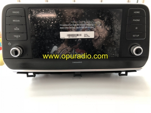 96160S9000 Radio for 2018 2019 KIA Car Media HYUNDAI MOBIS SiriusXM Carplay