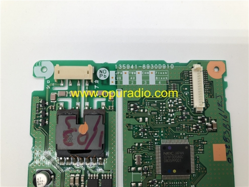135941-8930D910 PC board for 2007-2009 Toyota Camry Sequoia Tundra car navigation radio