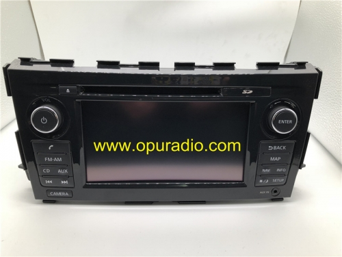 BOSCH RADIO 259153TP1A für 2013-2016 Nissan Altima Auto-CD-Player Navigation GPS-Karte Karte GCC-Version