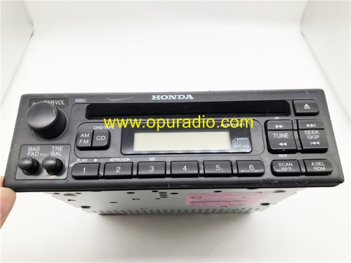 39100-S0X-A200 MATSUSHITA CD Player Radio for 1999-2004 Honda  Odyssey Civic Accord car Tuner Stereo