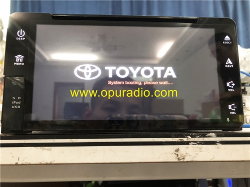 TOYOTA PZ360-60102 RECEIVER ASSY NAVIGATION CARMAX Radio for 2013-2015 RAV4 Middle East Version