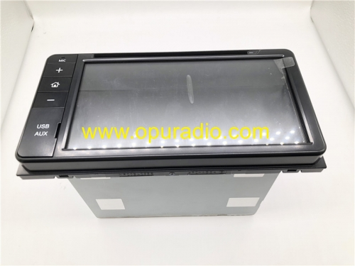 CV-DW PZ366-00106 RECEIVER ASSY RADIO Display Touch Screen for 2018 Toyota Land Crusier Prado Audio Phone Media USB AUX